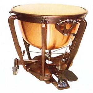 Timbal Bergerault Standard Symphonic Caldera Aluminio Pintada