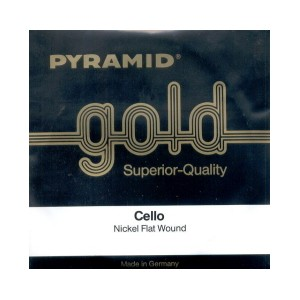 CUERDA CELLO GOLD MEDIUM PYRAMID