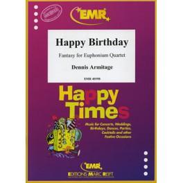 Happy Birthday (4 Bombardinos)