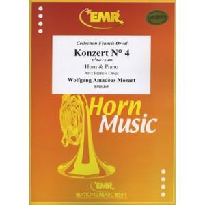 Konzert N 4 ( Mozart )