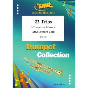 22 Trios ( 3 Trompetas)-Cecil