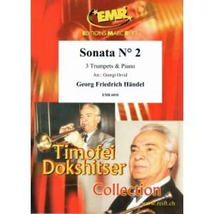 Sonata N2 (3 Trompetas-Piano)Handel