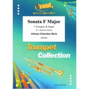 Sonata C-Dur (Bwv 31/1) (3Trompetas-Org-)Bach
