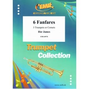 6 Fanfares (3 Trompetas)James