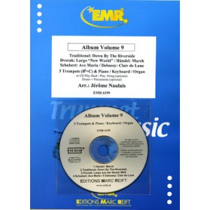 Album Volumen 9 (3 Trompetas/P.+CD Playback) Naulais
