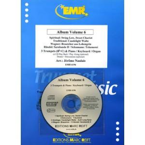 Album Volumen 6 (3 Trompetas/piano+CD playback)