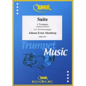 Suite (4 Trompetas)-Altenburg