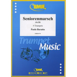 Seniorenmarsch (4 Trompetas) Baratto