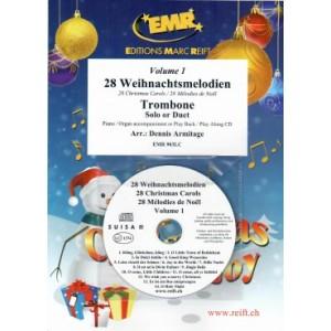 28 Weihnachtsmelodien Vol. 1+CD-Armitage