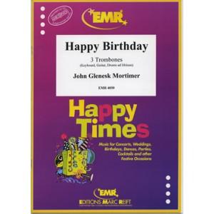 Happy Birthday (3 Trombones) Mortimer