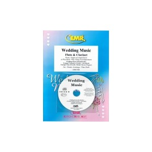 Wedding Music (Flauta-Clarinete+CD)Varios