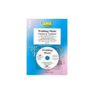Wedding Music(Música Bodas)( Clarinet-Trombón/P.+CD playback) EM