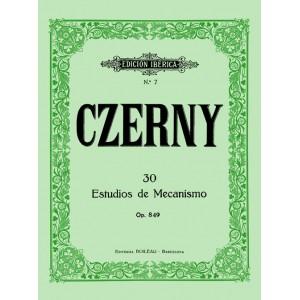 30 ESTUDIOS DE MECANISMO CZERNY
