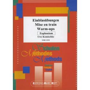 WARM-UPS - KOMISCHKE