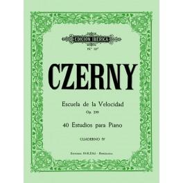 ESCUELA DE LA VELOCIDAD - CZERNY