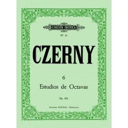ESTUDIOS DE OCTAVAS - CZERNY ,CARL