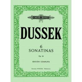 6 SONATINAS Op.20-DUSSEK
