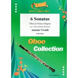 6 Sonatas (Oboe-Piano) Vivaldi