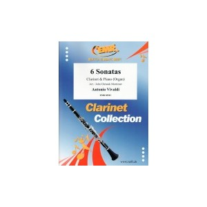 6 Sonatas(clarinete/P)Vivaldi