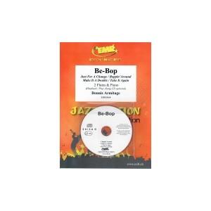 Be-Bop (2 Flautas-CD playback)Armitage