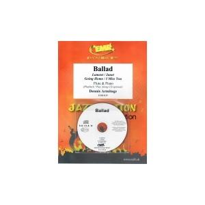 Ballad (flauta-piano)CD playback,Armitage