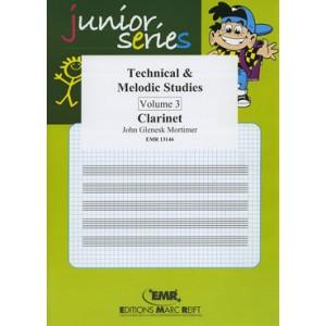 Technical - Melodic Studies 3º (Clarinete)