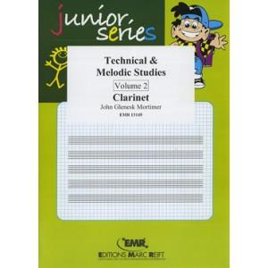 Technical - Melodic Studies 2º (Clarinete)