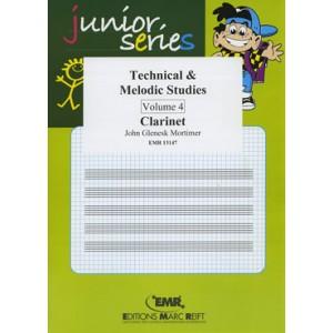Technical - Melodic Studies 4º (Clarinete)