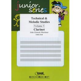 Technical - Melodic Studies 5º (Clarinete)