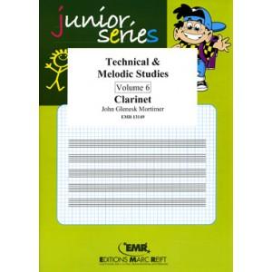 Technical - Melodic Studies 6º (Clarinete)