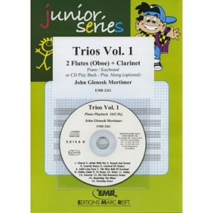 Trios vol.1º - 2 Flautas (oboe)+ clarinete