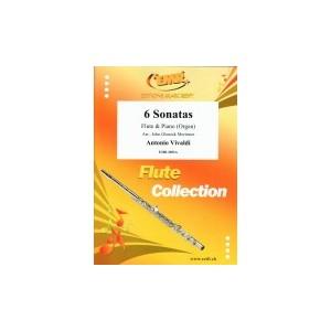 6 Sonatas (Flauta-Piano) Vivaldi