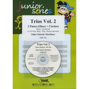 Trios vol.2º (2 Flautas-Clarinete) Mortimer