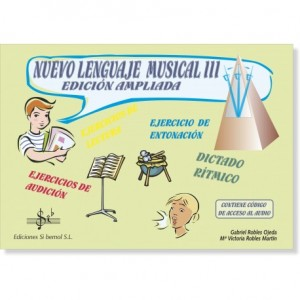 NUEVO LENGUAJE MUSICAL III (Audio en APP)
