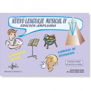 NUEVO LENGUAJE MUSICAL IV (Audio en APP)
