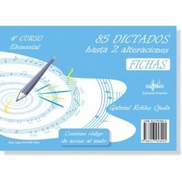85 DICTADOS 4º CURSO ELEMENTAL